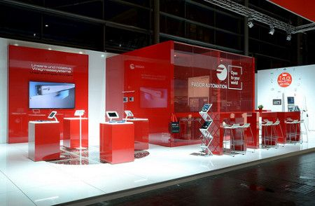 Design and implementation of exhibitions and stands